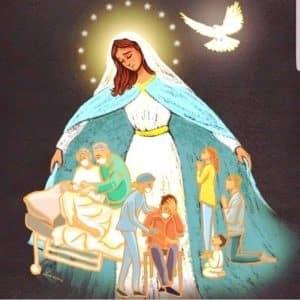 Mères divines, unissez-vous et priez