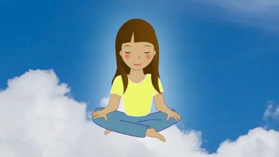 Les enfants et la meditation