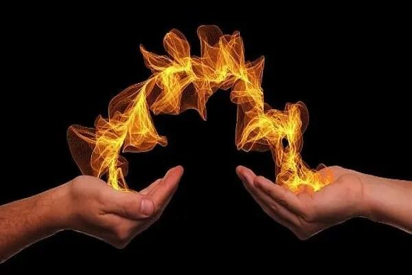 flamme de vie