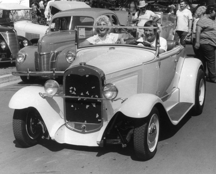 Don and Suzie Grouleff '31 Ford Roadster