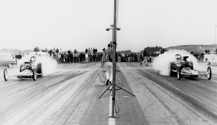 Half Moon Bay drag strip
