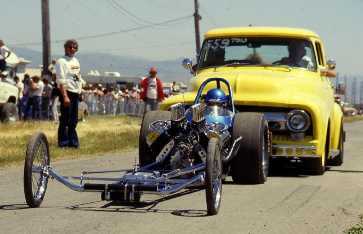 Adams & Enriquez A/Fuel dragster