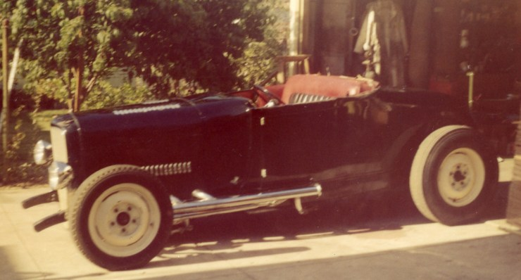 Paul Chamberlain's 1929 Ford Model A roadster