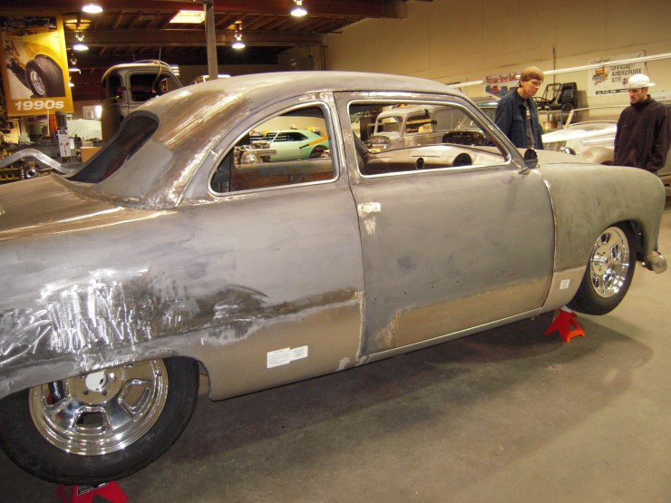 Eric Clapton's Ford coupe