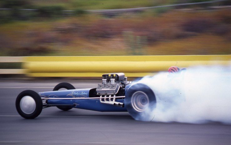 Cook and Bedwell dragster