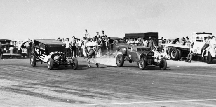 Santa Ana drags in 1950