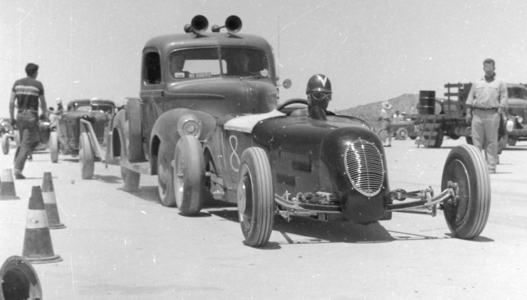 El Mirage dry lakes hot rod racing Don Waite