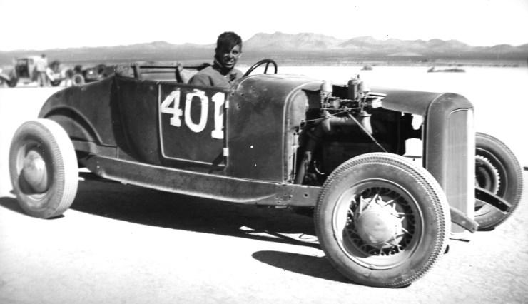 Dry lakes hot rod racing