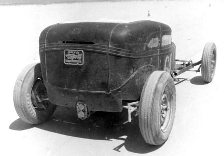 Dry lakes hot rod racing Jim Woods