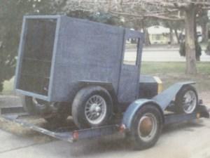 Bill West's Model T panel truck