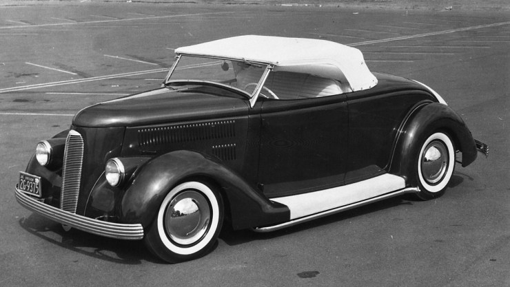 Dee Wescott '36 custom roadster