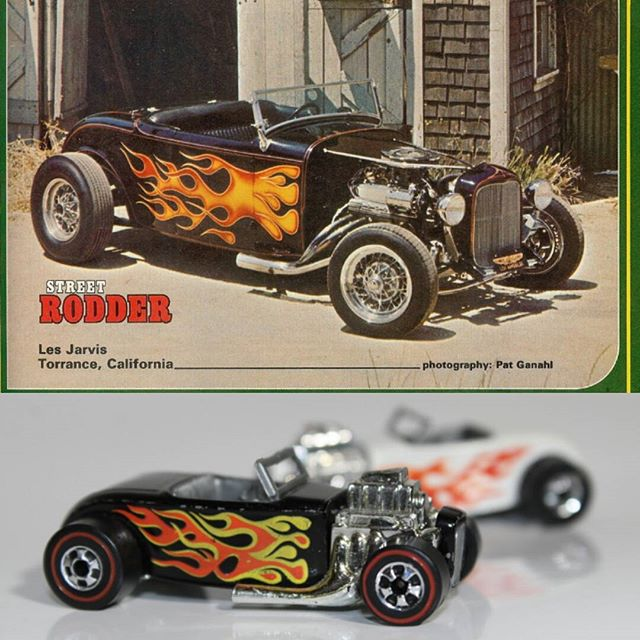 Les Jarvis 1932 roadster Hot Wheel