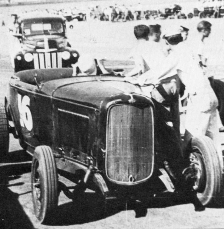 Jack McGrath roadster