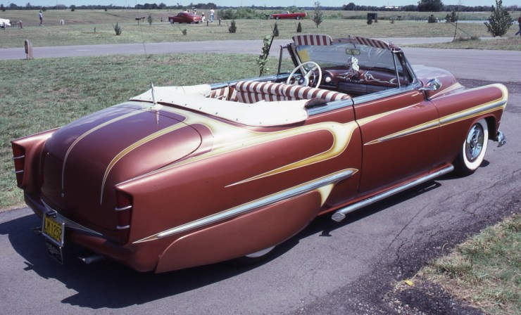 Conrad Winkler's '51 Olds custom convertible