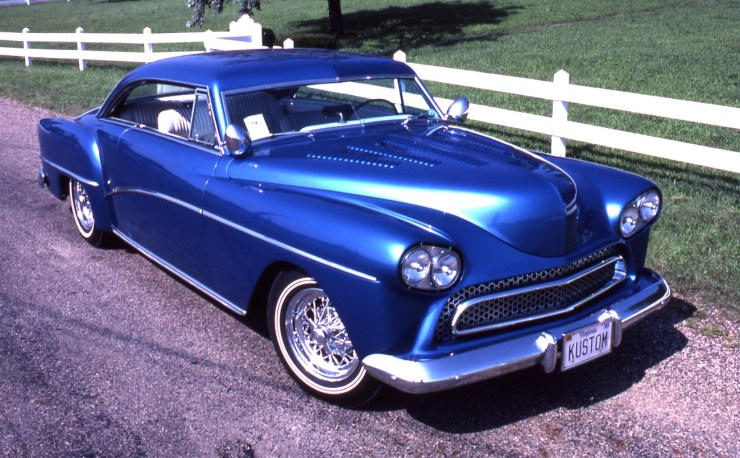 Sonny Daout's chopped custom '50 Chrysler