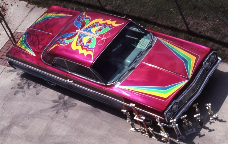 Lowrider with paint detail