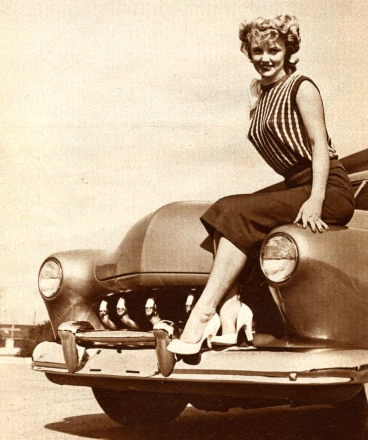 Jeannie Chrisman in Hop Up magazine