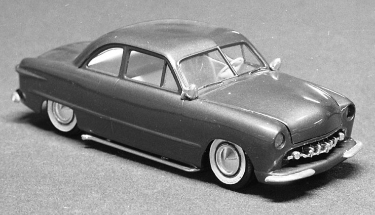 Miles Masa's '50 Ford coupe model car