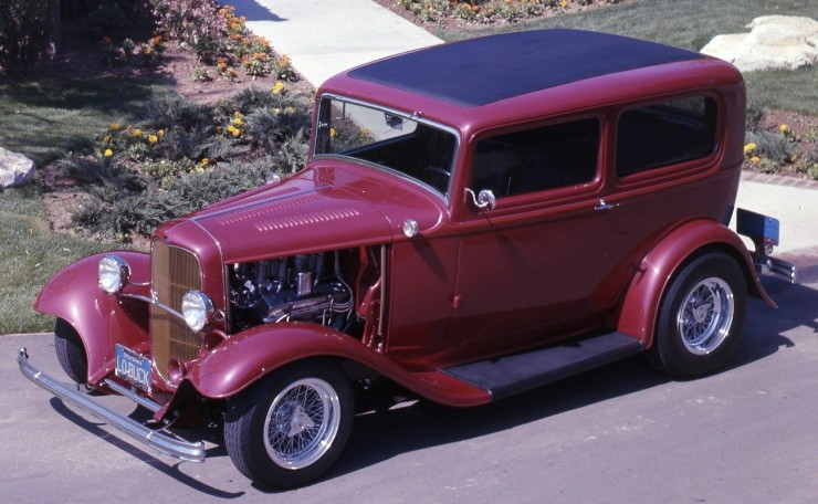 Bill Desatoff's Deuce sedan