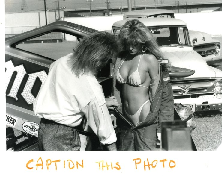 Randy Lorentzen and model