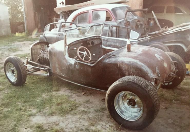 '27 T roadster Dale Tenney