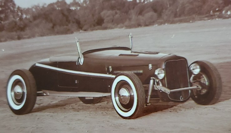 '27 T roadster Carl Burnett