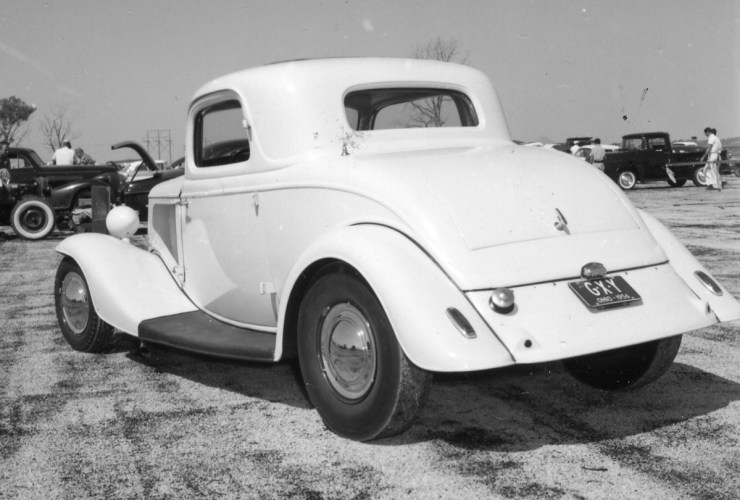 George Montgomery's 34 Cad coupe