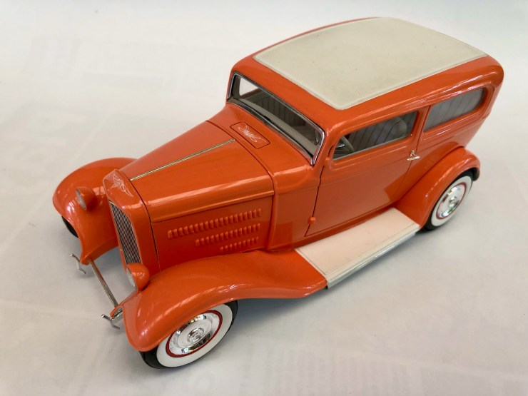 Bryce Michelmore model of sedan hot rod