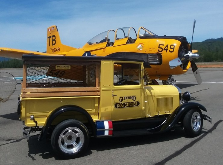 "Bruce ""Doc"" Glen's 1929 dogcatcher pickup truck"