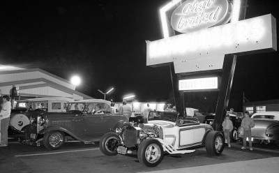 Hot rods at Angelo's in Anaheim