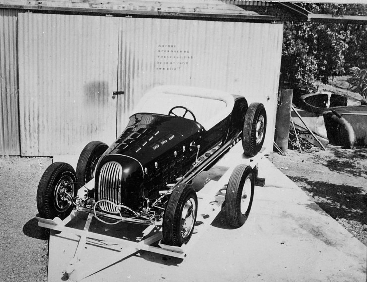 Marvin Webb's roadster
