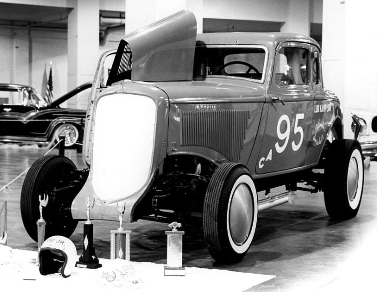 Lou Kamp's '32 Plymouth coupe