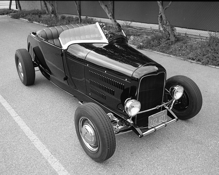 Dick Courtney's '29 Hiboy roadster