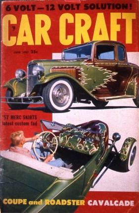 June '57 Car Craft magazine cover