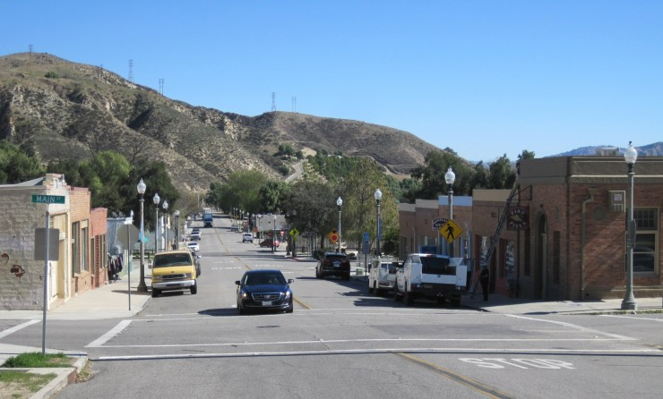 Piru, California, setting of The California Kid
