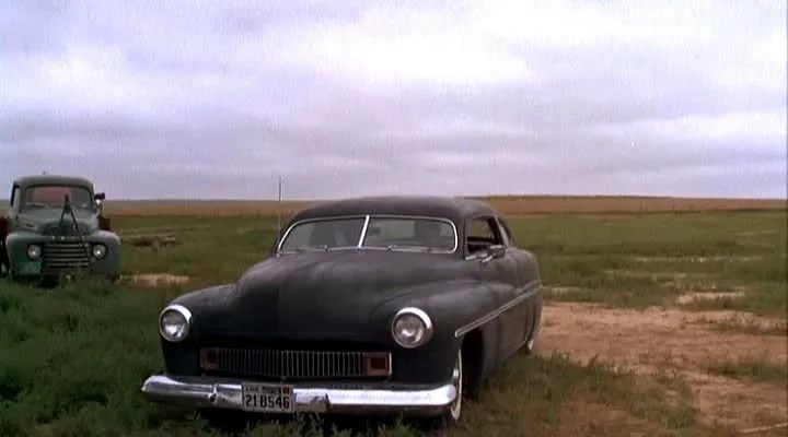 Gary Littlejohn's 1951 chopped Merc in the movie Badlands