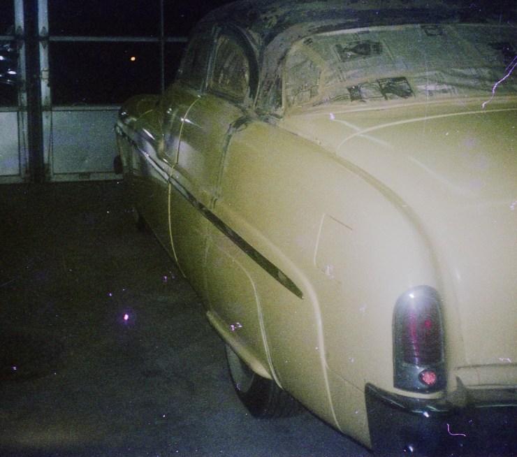 Paul Hatton's chopped '51 Merc