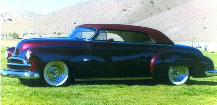 Ken Mahan's '50 Chevy convertible