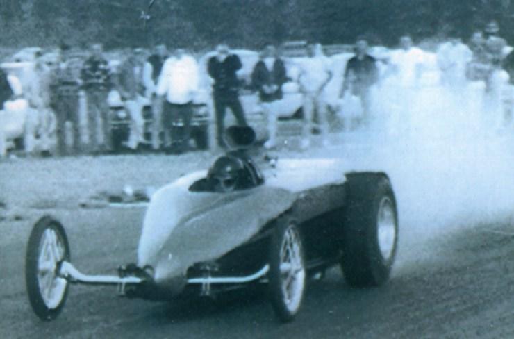 Ken Mahan and Jack Verhelt roadster