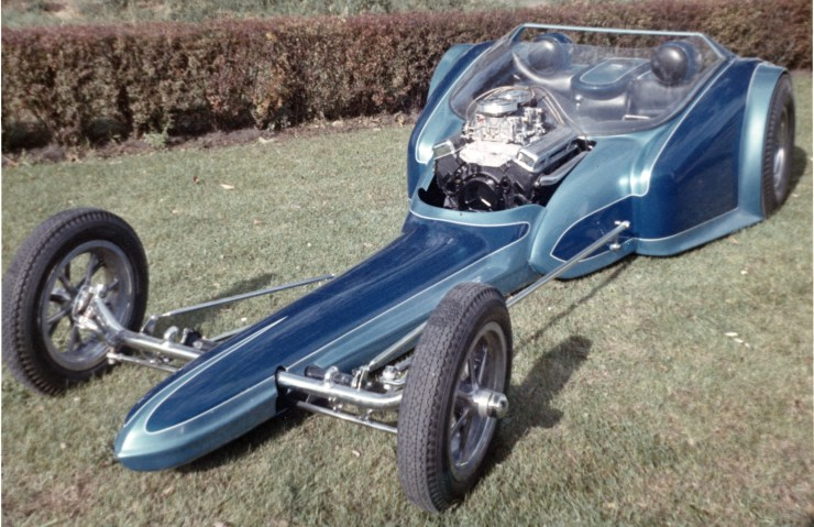 Gary Lee futuristic dragster