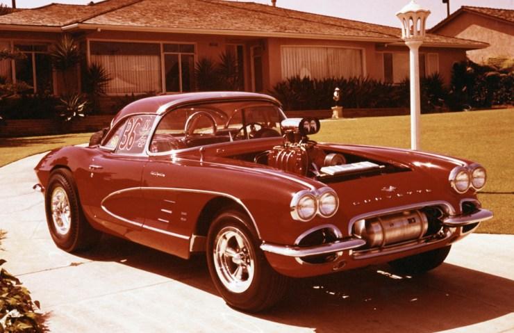 Big John Mazmanian's '61 Corvette