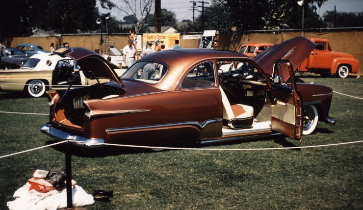 """Hersh """"Junior"""" Conway's '50 shoebox Ford"""