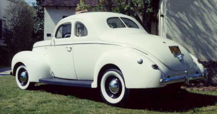 Tom Connors' '40 standard coupe
