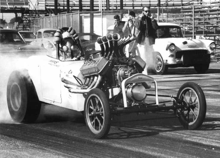 Butch Sinclair's '27 roadster