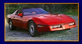 1984 model Corvette kit