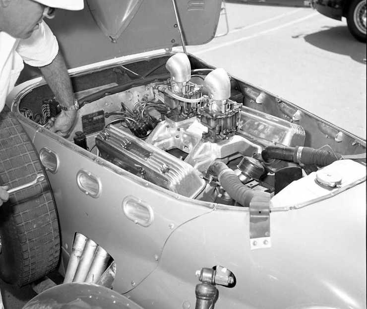 Sidney Allard Terminal Island Road Races Jan. '54
