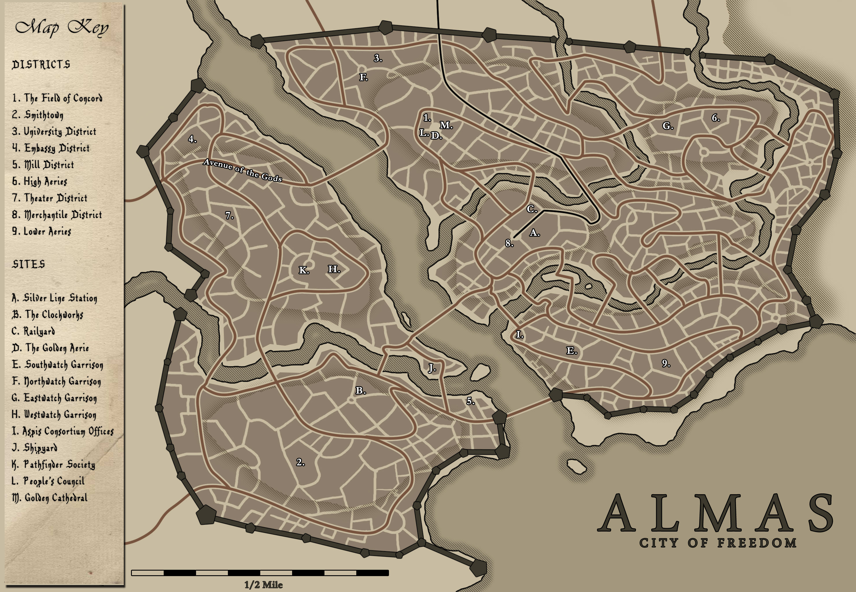 Almas, capital of Andoran