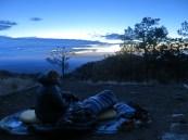 Sunrise on Guadalupe Peak