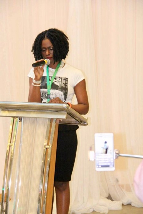 Barrister Idahosa speaking