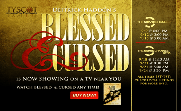 """Deitrick Haddon's """"Blessed & Cursed"""" The Movie Is Now On"""